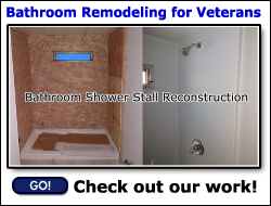 Bathroom Remodeling for Veterans