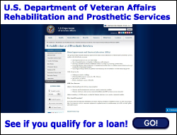 U.S. Department of Veteran Affairs - Rehabilitation and Prosthetic Services